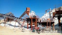 直击现场∣新疆时产300吨精品骨料生产线奇迹绽放